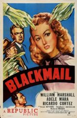Blackmail 1947 DVD - William Marshall / Adele Mara